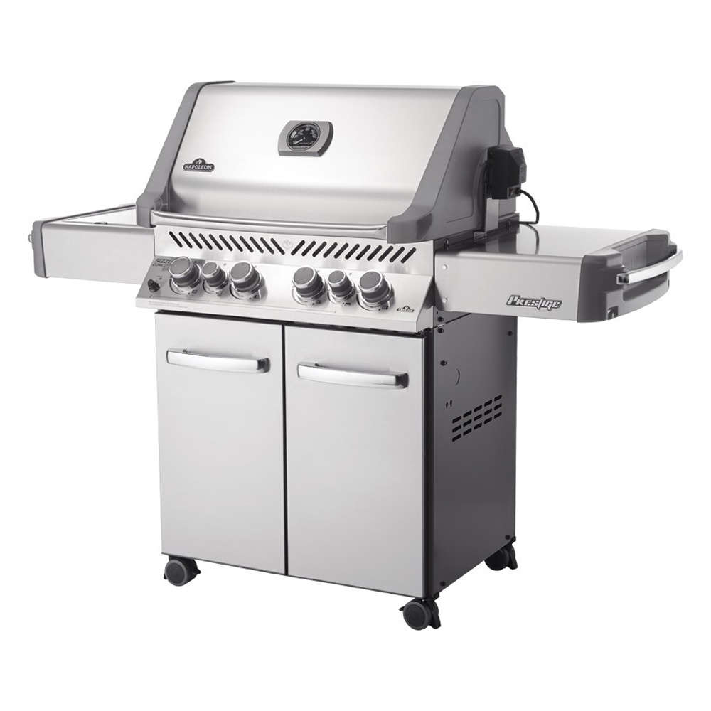 Napoleon prestige p500rsib natural gas bbq bedfordshire for Giordano shop barbecue a gas