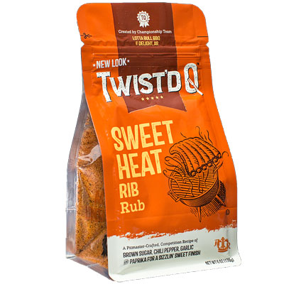 Twist'd Q Sweet Heat Rub