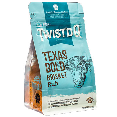 Twist'd Q Texas Bold Brisket Rub