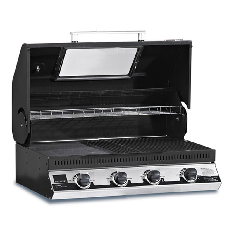 beefeater discovery 1100e 4 burner built in bbq grill. Black Bedroom Furniture Sets. Home Design Ideas