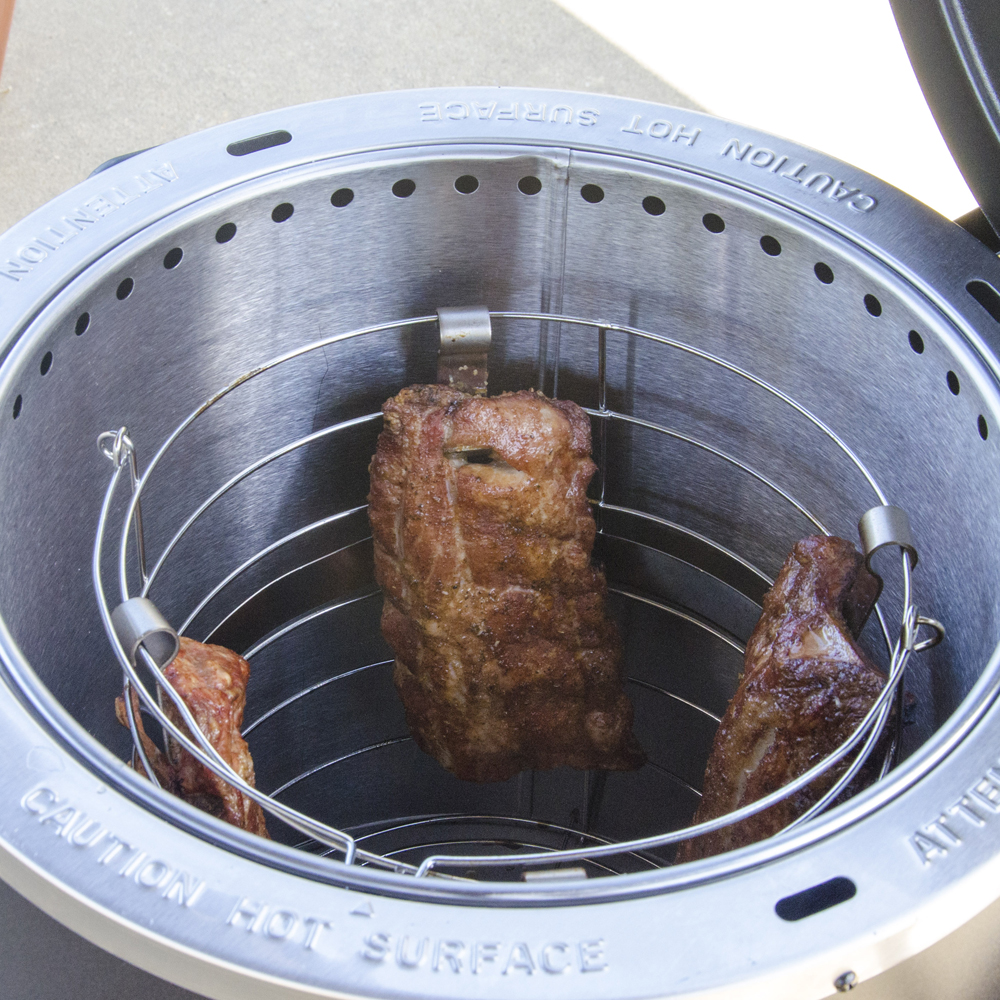 The Char Broil Tru Infrared Big Easy Gas Smoker