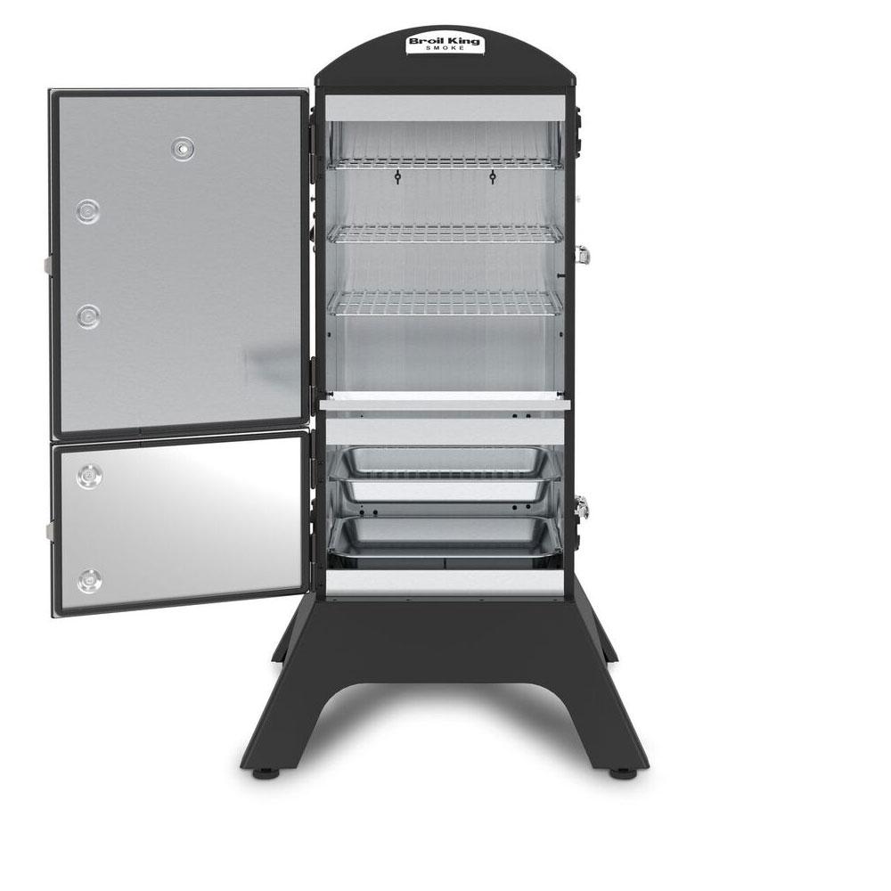 broil king vertical cabinet charcoal smoker uk bedsbbq. Black Bedroom Furniture Sets. Home Design Ideas