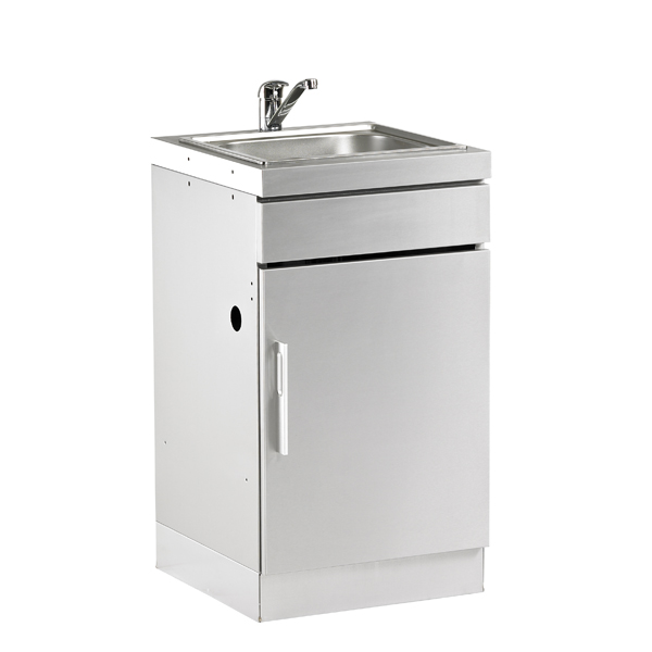 Outdoor Kitchen Units Uk: Discovery ODK Kitchen Sink Unit Stainless Steel At Beds BBQ UK