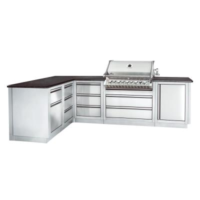 Napoleon Oasis 300 Modular Outdoor Kitchen Island Build
