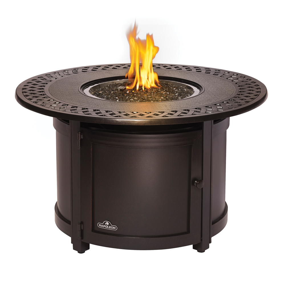 Superb Napoleon Victorian Round Patio Flame Table. Save