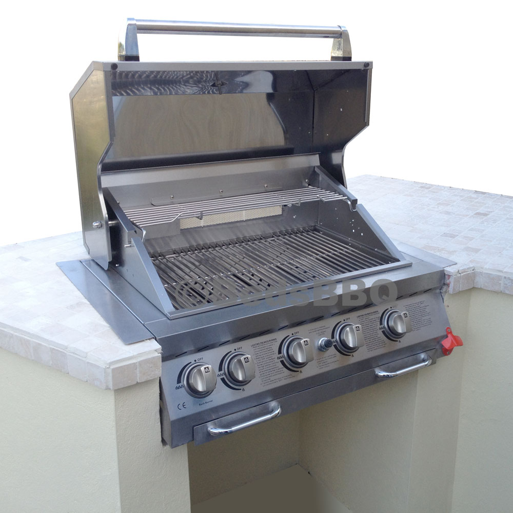 Built In Barbecues Gas Grill Units Build In Your Gas Bbq The